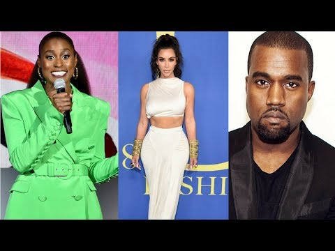 ISSA RAE Throws MAJOR SHADE At KANYE Right In Front Of KIM KARDASHIAN While Hosting The CFDA Awards!