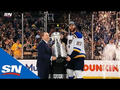 St. Louis Blues Hoist First Stanley Cup In Franchise History