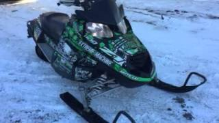 2. Arctic Cat Z1 1100 Turbo 2009