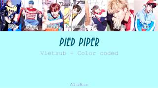 Video [VIETSUB] PIED PIPER - BTS (Color coded) MP3, 3GP, MP4, WEBM, AVI, FLV Agustus 2018
