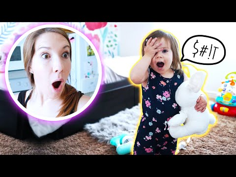 BAD MICAH! - One Year Old Says First Swear Word *Hilarious*