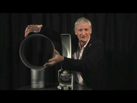 fan - Sir James Dyson explains the technology behind his latest innovative invention, the bladeless fan. Also, Dyson explains his backing of the Tories. Get the la...