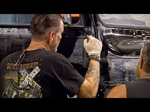 Watch A Major Paintjob Mistake Become Inspiration For A Great Look   Vegas Rat Rods