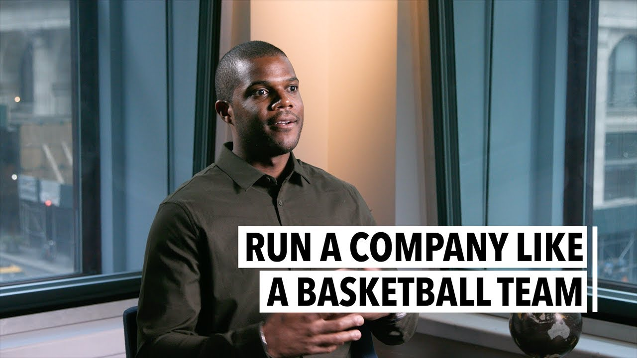 Run a Company Like a Basketball Team