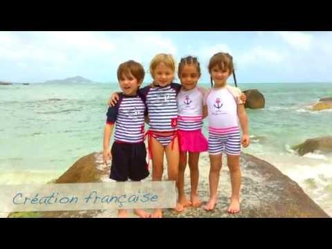 Elly La Fripouille - Tee-Shirt, Maillots et Accessoires Anti-Uv pour Enfants et Bébes