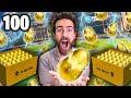 100 NEW GOLDEN EGG ROCKET LEAGUE CRATE OPENING!