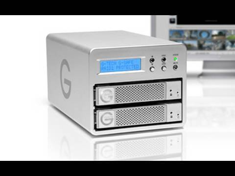 G-Technology 2TB G-Safe RAID Storage System Review