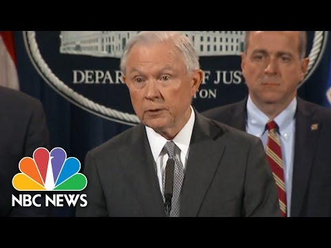 Jeff Sessions Announces Tougher Sentencing Policy For Drug Offenses | NBC News
