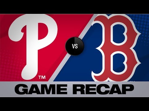 Video: Harper powers Phillies to 5-2 victory | Phillies-Red Sox Game Highlights 8/21/19