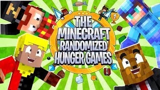 The Minecraft Randomized Hunger Games! #9 - Minecraft Modded Minigames | JeromeASF