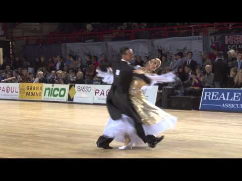 Waltz - The finalists of the 2013 WDSF PD World DanceSport Championship Standard perform their presentation Waltz in Bassano di Grappa, ITA, on 10 February. Mirko Go...