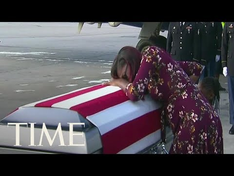 See The Heartbreaking Moment Sgt. La David T. Johnson's Widow Received His Remains   TIME