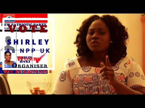 Vote SHIRLEY FOR NPP UK BRANCH WOMEN ORGANISER