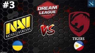 Na`Vi vs Tigers #3 (BO3) | DreamLeague Season 10