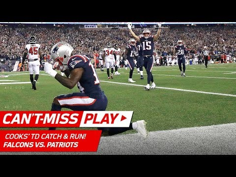 Video: Patriots FG Block Sets Up Tom Brady's TD Toss to Brandin Cooks! | Can't-Miss Play | NFL Wk 7