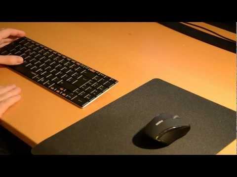 Testbericht: Rapoo E9070 Wireless Tastatur German (E9060)