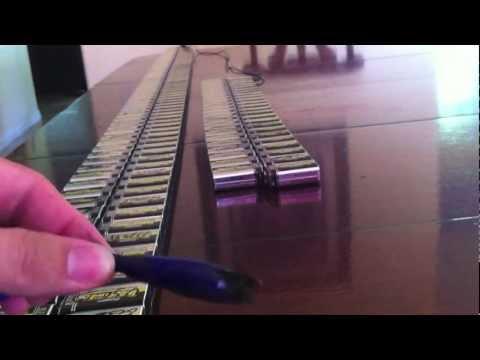 瘋狂實驗:他突發奇想將244個電池串在一起 結果竟然?