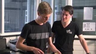 Studentenhaver 2 Edser grillt pangaspiesjes