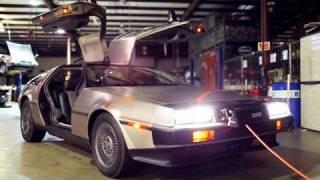 """【まさに""""Back to the future!""""】バックトゥーザフューチャーで有名なあの車がEVとして復活!(英語)"""