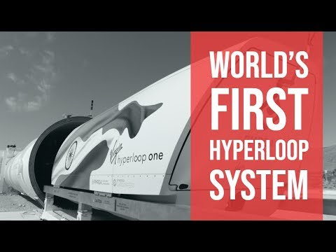 Hyperloop One In India    First Country To Have a Hyperloop