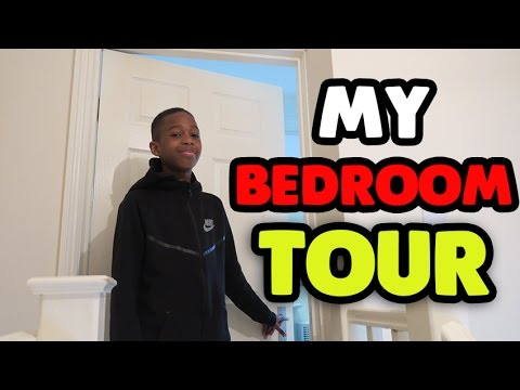 MY New Bedroom Tour!! | I Have The Whole Top Floor!!!!