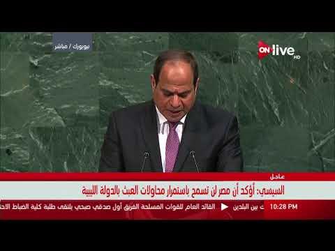 العرب اليوم - شاهد: السيسي يؤكّد أنّ الوقت حان لمعالجة شاملة للقضية الفلسطينية
