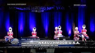 """Suab Hmong News: Hmong Dancer Group """"NKAUJ HMOOB USA"""" competeted at 2011-12 Milwaukee Hmong New Year"""
