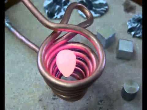 漂浮在螺線管裡的金屬塊現在看起來沒什麼,但是幾分鐘後的變化必定讓你大呼好神奇!