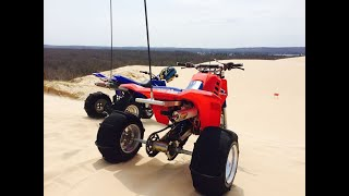 6. 1985 Honda 250R ATC Three Wheeler ESR 310 Kit Vs 2006 Yamaha Banshee