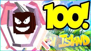 OUR FIRST PERFECT LEVEL 100 POKEMON! - PIXELMON ISLAND SMP #31