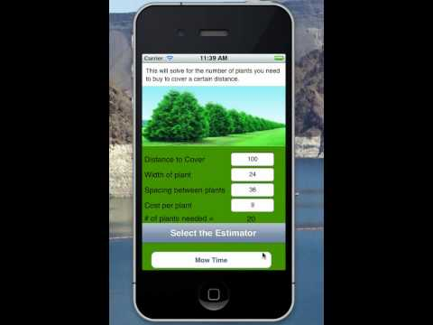 Video of Landscaper Quote Calculator