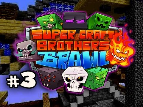 THE BAT....MAN - Minecraft: Super Craft Brothers Brawl w/Nova, Kevin, Immortal & Sly Ep.3 Video