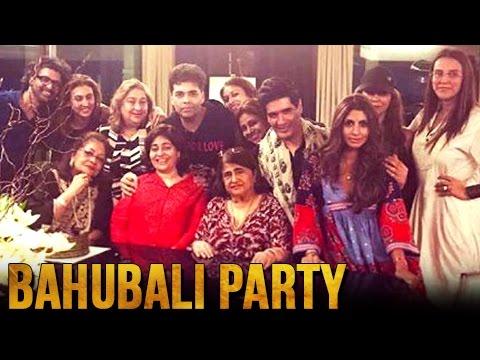 Karan Johar Celebrates Bahubali 2 The Conclusion S