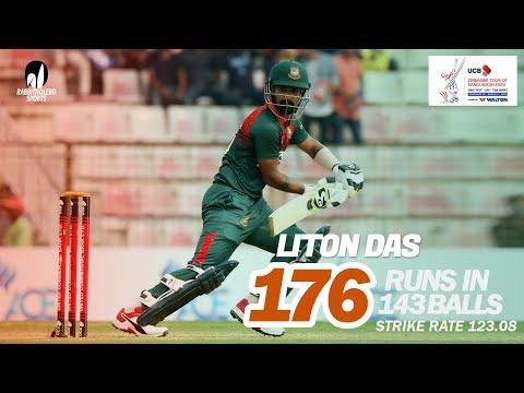 Liton Das's 176 Run Against Zimbabwe | 3rd ODI | Zimbabwe tour of Bangladesh 2020