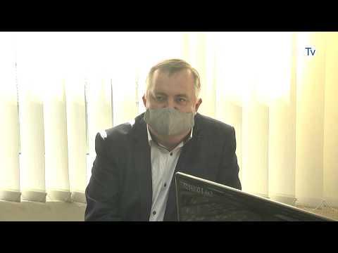 Мэр Энергодаре провел рабочее совещание в СМСЧ по материальному обеспечению в условиях пандемии