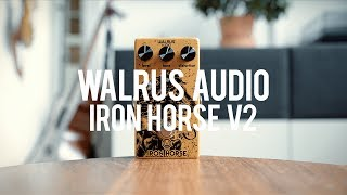 My demo of the Walrus Audio Iron Horse V2!https://www.walrusaudio.com/Guitar: Fano PX6Amp: Tone King 20th Anniversary ImperialCables: Toaster Cables - http://www.toastercables.com/Patch cables: Mulder Audio - http://www.mulderaudio.com/Contact: livingroomgear@gmail.comhttps://www.patreon.com/livingroomgeardemoshttps://www.facebook.com/livingroomgearhttps://twitter.com/livingroomgearhttp://instagram.com/livingroomgeardemoshttp://ask.fm/livingroomgearhttp://livingroomgeardemos.tumblr.com