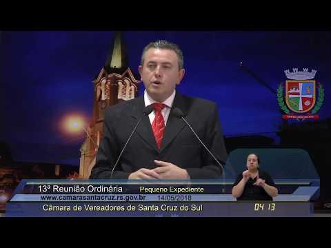 13ª Reunião Ordinária - 14/05/2018