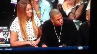 Jay-Z reaction to LeBron crazy shot