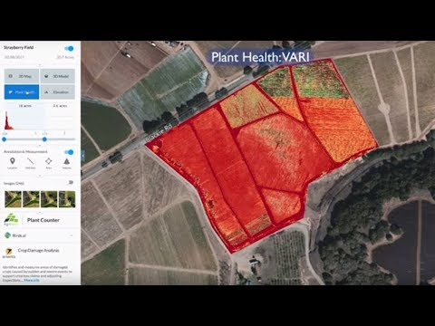 New Holland PLM Drone Data Management