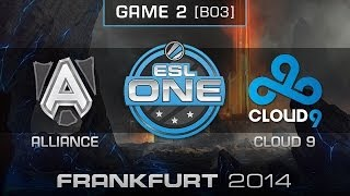 Nonton Cloud 9 Vs  Alliance   Quarterfinals Map 2   Esl One Frankfurt 2014   Dota 2 Film Subtitle Indonesia Streaming Movie Download