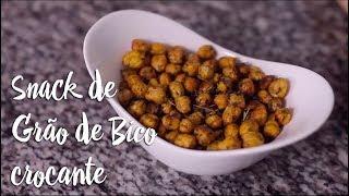 Experimente - Snack de Grão de Bico crocante