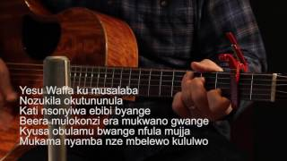 An easy-to-learn acoustic guitar version of The Salvation Poem in Luganda. Download the pop version of the song for free at: ...
