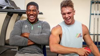 Q&A | MY NEW BOXING COACH: Anthony Joshua (RIP KSI)