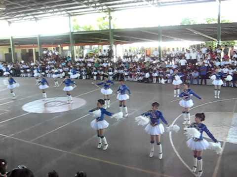 Banda Ritmica y Palillonas del Colegio Nuestra Señora del Rosario 2011