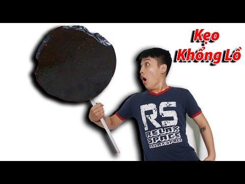 NTN - Thử Ăn Kẹo Mút Khổng Lồ 5KG ( Giant lollipop ) - Thời lượng: 14 phút.