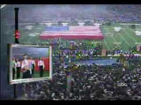 Remember When Faith Hill Sang the National Anthem at the Super Bowl?