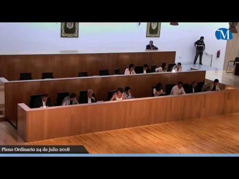 Pleno ordinario de la Diputación correspondiente al mes de julio