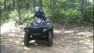 7. Polaris Sportsman 500 EFI Through The Mud
