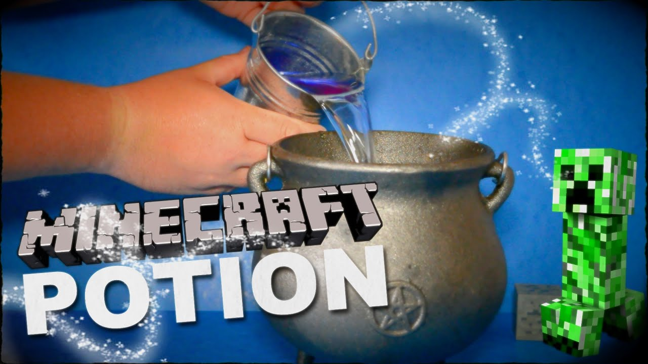 How To Make Minecraft Potion To Spawn Creeper Mobs