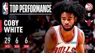 Coby White Sinks 6 THREES! | 2019 NBA Preseason by NBA